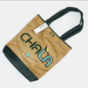 🆕 CHALA Tote Handbag - Vegan Suede - NWT